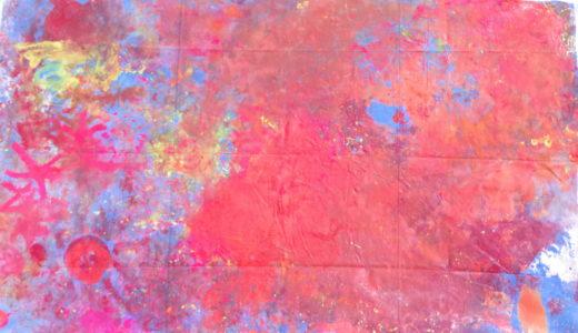 巨大絵画アーケード展18「水と火」ほむすびの会